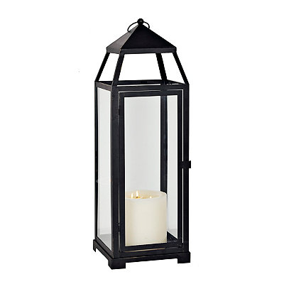 Dark Bronze Large Metal Lantern