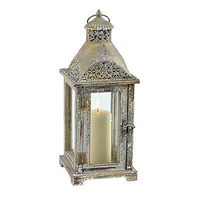 Antique Metal Dome Lantern