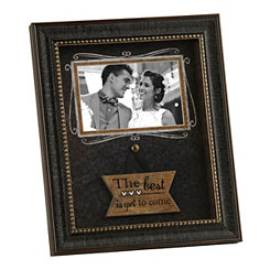 Black The Best is Yet to Come Picture Frame, 4x6