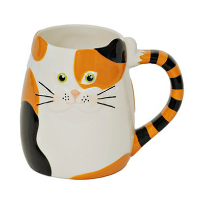 Colorful Cat Mug