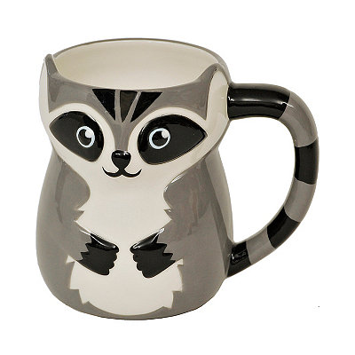 Colorful Raccoon Mug