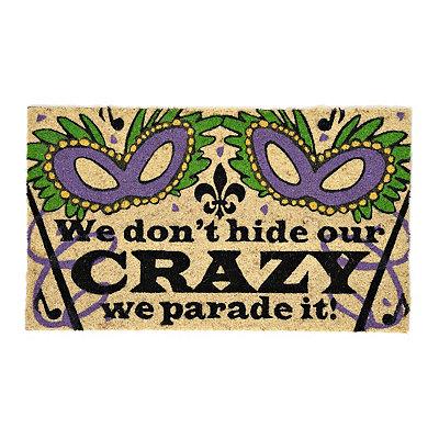 Mardi Gras Parade Doormat