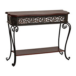 Cassidy Scroll Console Table