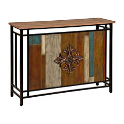 Franklin Patchwork Console Table