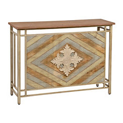 Camden Wood Plank Console Table