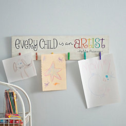 Every Child is an Artist Clip Art Holder