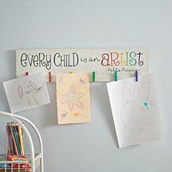 Every Child is an Artist Clip Art Holder