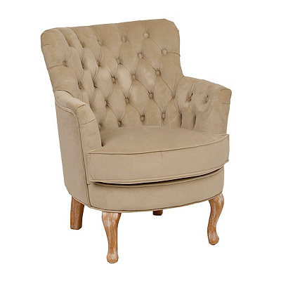 Bella Tan Accent Chair
