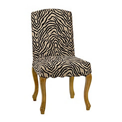 Zebra Print Accent Chair
