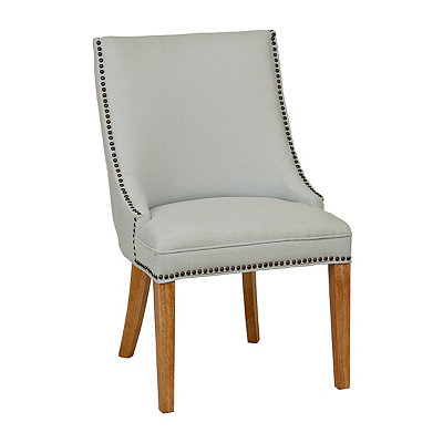 Darla Sea Mist Linen Accent Chair