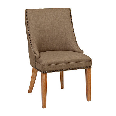 Darla Stone Linen Accent Chair