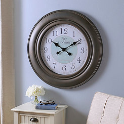 Sadie Brown and Blue Clock