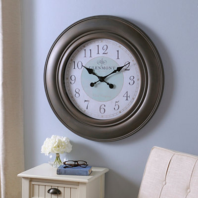 Sadie Brown and Blue Clock