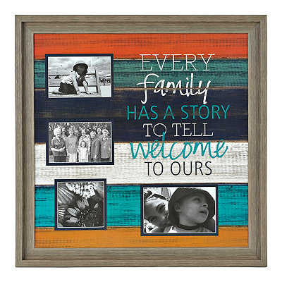 Family Story 4-Opening Collage Frame