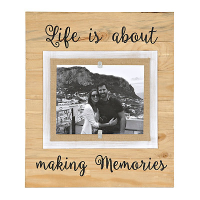Life is About Making Memories Picture Frame, 8x10