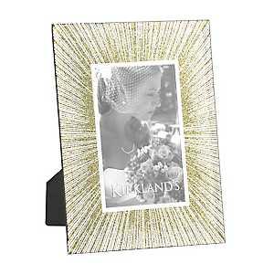 Glitter Gold Sunburst Picture Frame, 4x6