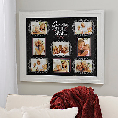 Grandkids Make Life Grand Collage Frame