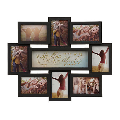 Hello Beautiful 8-Opening Collage Frame