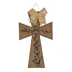 Blessed Natural Wooden Cross