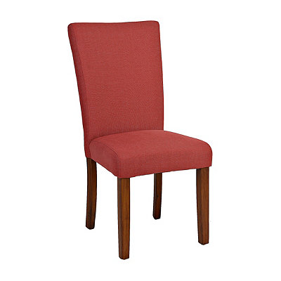 Red Persimmon Parsons Chair