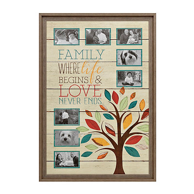 Family Tree 8-Opening Collage Frame
