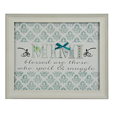 Mimi Scrapbook Shadowbox