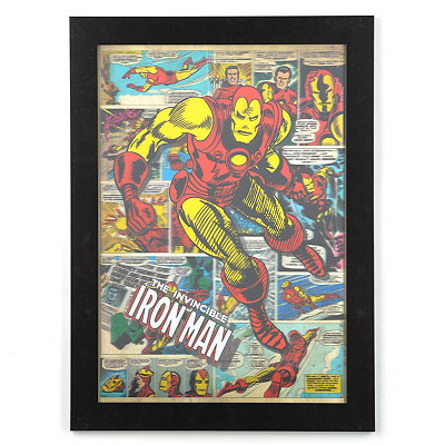 Iron Man 3D Framed Art Print