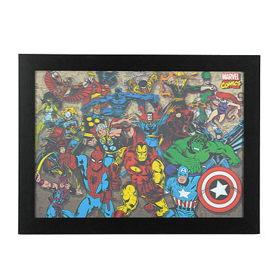 Marvel Universe 3D Framed Art Print
