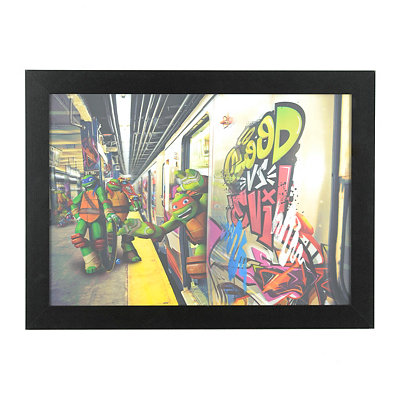 Ninja Turtles 3D Framed Art Print