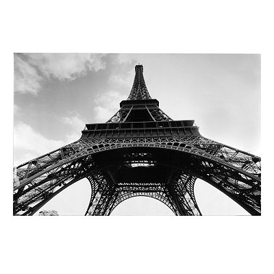 Eiffel Tower Sky Canvas Art Print