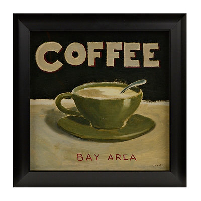 Coffee Spot III Framed Art Print