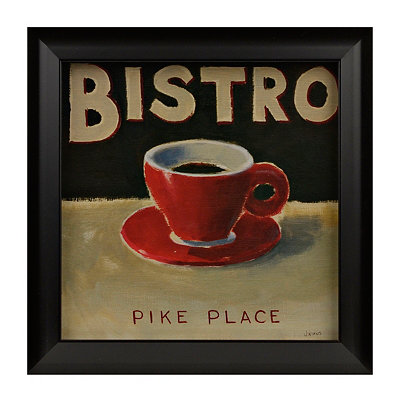 Coffee Spot IV Framed Art Print