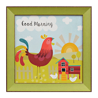 Good Morning Simple Life I Framed Art Print