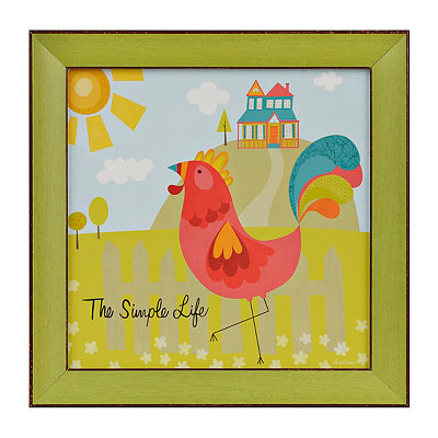 Good Morning Simple Life II Framed Art Print
