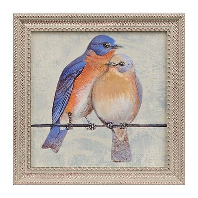 Love Birds I Framed Art Print