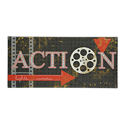 Action Canvas Art Print