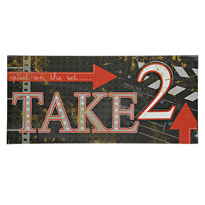 Take 2 Canvas Art Print