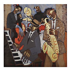 Jazz Quartet Canvas Art Print