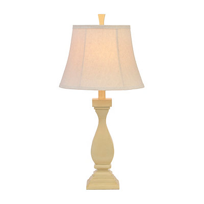Sand Dollar Cream Table Lamp