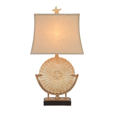 Sandstone Medallion Table Lamp