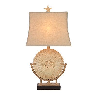 Sandstone Medallion Table Lamp
