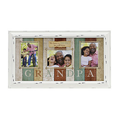 Grandpa Hero Collage Frame
