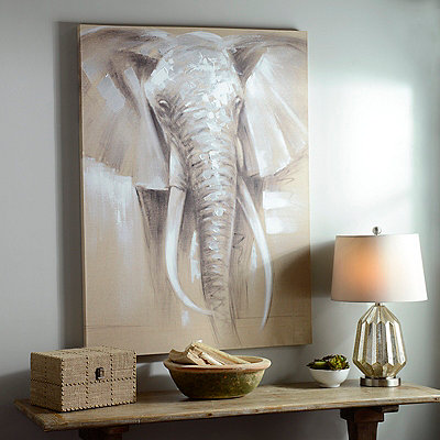 Gentle Giant Canvas Art Print