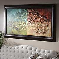 Tree of Life Seasons Framed Art Print