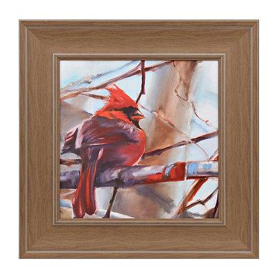 Cardinal I Framed Art Print