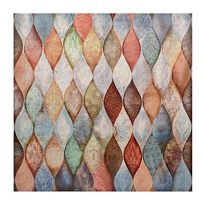 Plentiful Patterns Canvas Art Print