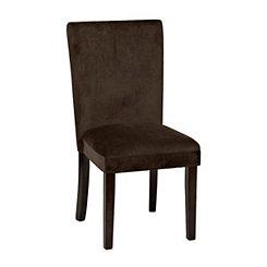 Chocolate Parsons Chair