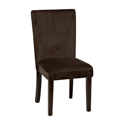Chocolate Parsons Chair