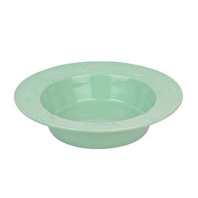 Aqua Sanibel Serving Bowl
