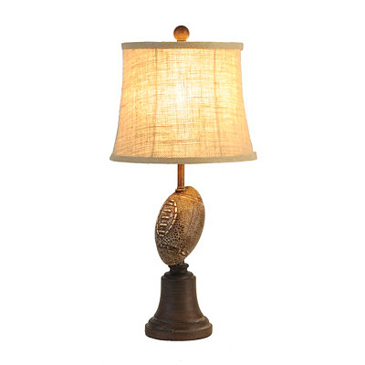 Vintage Football Table Lamp
